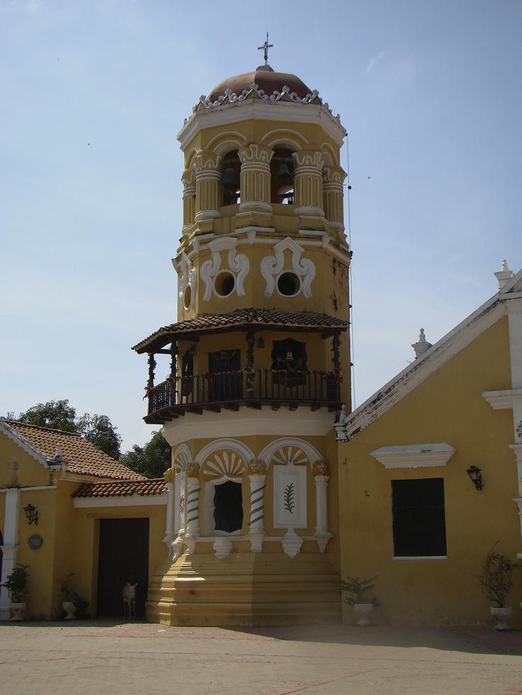 Iglesia santa Barbara en Mompox...la hermosa ciudad que me vio nacer