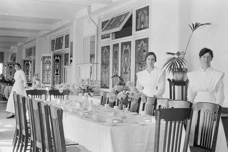 Boans Bros tea rooms, 1919. State Library of Western Australia 112320PD