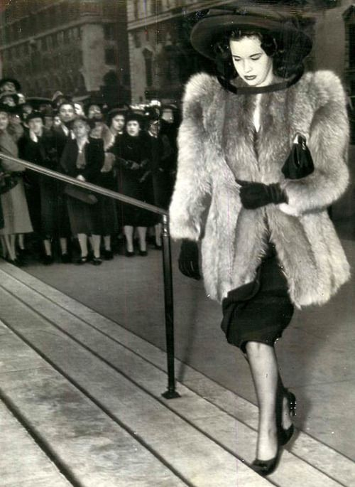 Gloria Vanderbilt, 1942. (AKA, Anderson Cooper's mom)