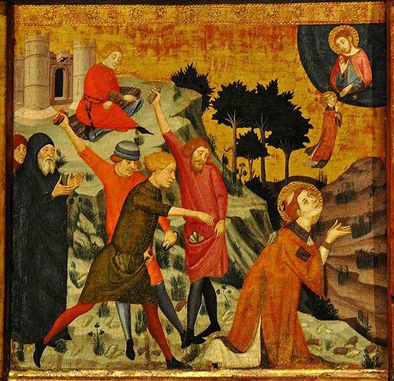 Sant Esteve. Lapidat