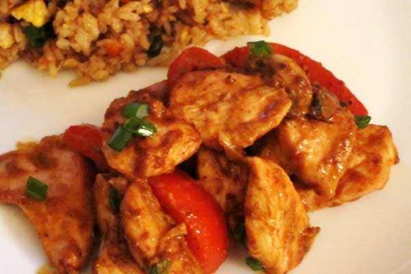 Easy Peanut Chicken Stir Fry | FOOD! | Pinterest