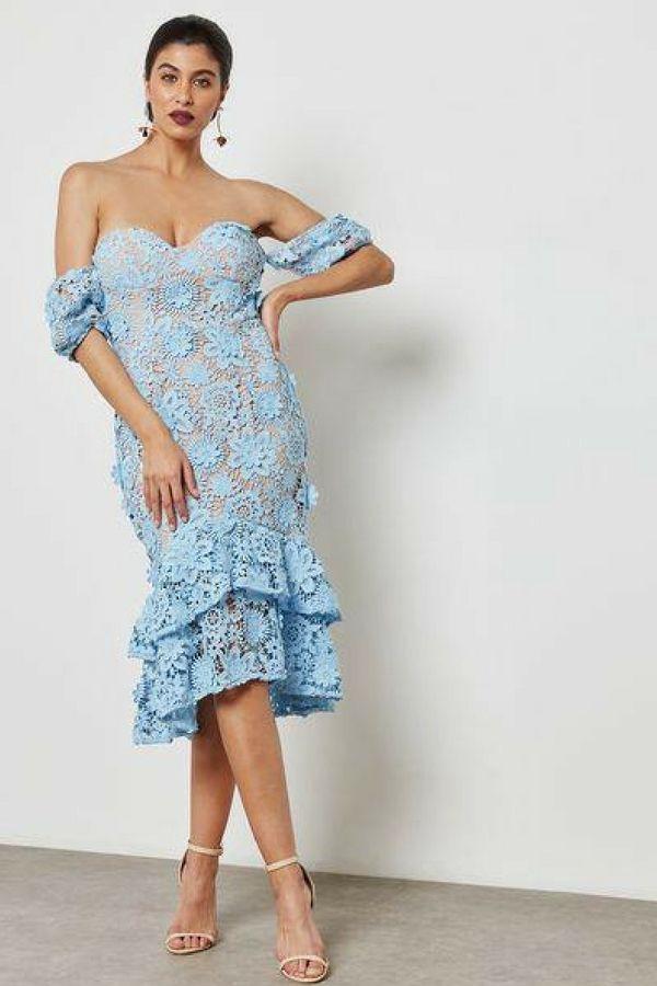 02b0a34075 Sukienka Jarlo Merrilee Blue