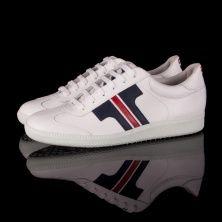 Tisza Shoe model Compakt - white / blue / red