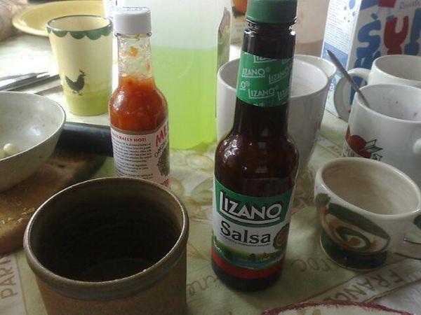 how to make salsa lizano