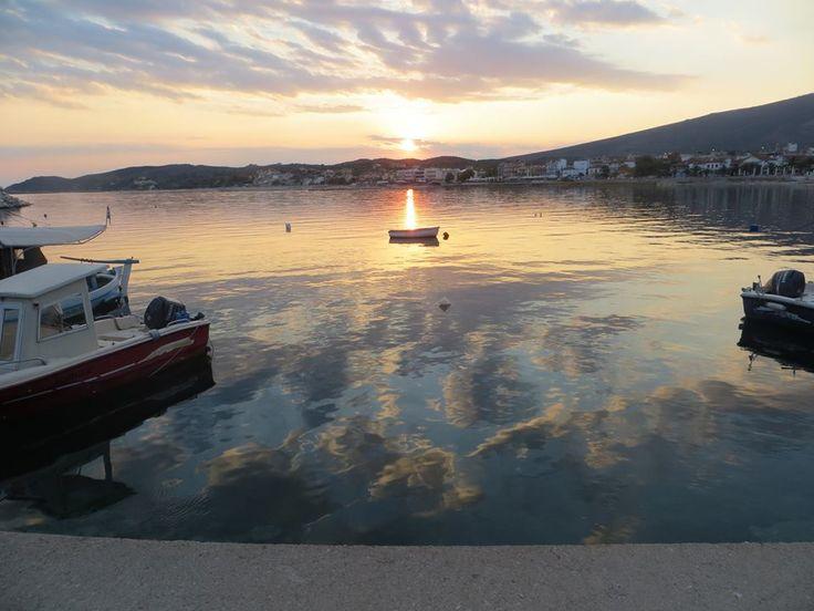 Magic view at Limenaria Thassos Greece