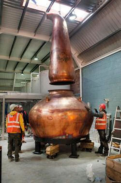 Kingsbarns Distillery Welcomes Copper Pot Stills | 4th October, 2014