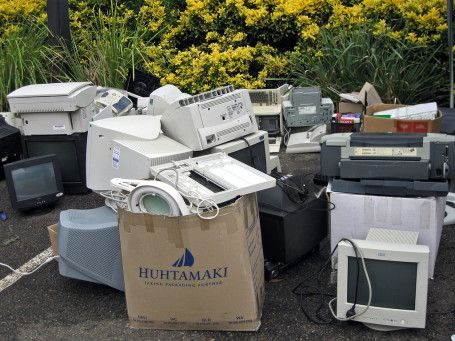 In a village outside of Beijing, families depend on e-waste recycling to make a living.