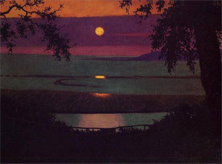 Sunset, 1918 - Felix Vallotton - WikiPaintings.org