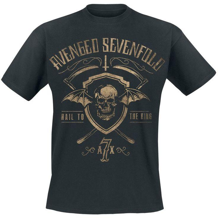 22,99e Shield & Sickle (T-paita) - Avenged Sevenfold. Koko M