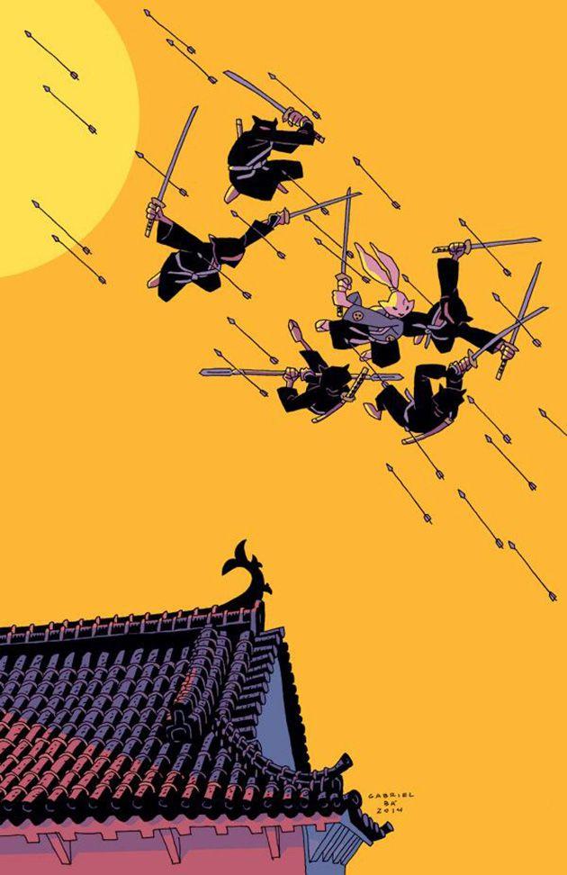 Usagi Yojimbo by Gabriel Bá for the Stan Sakai Benefit
