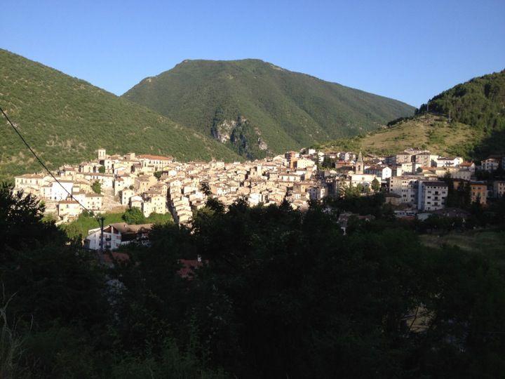 Scanno nel Abruzzo