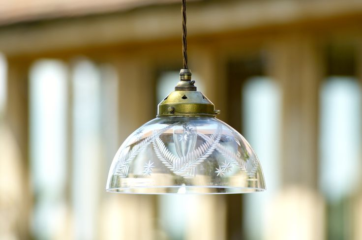The Ashurst #CutGlass #Pendant #Light has pretty detailing that adds a little bit of extra wow factor to any room