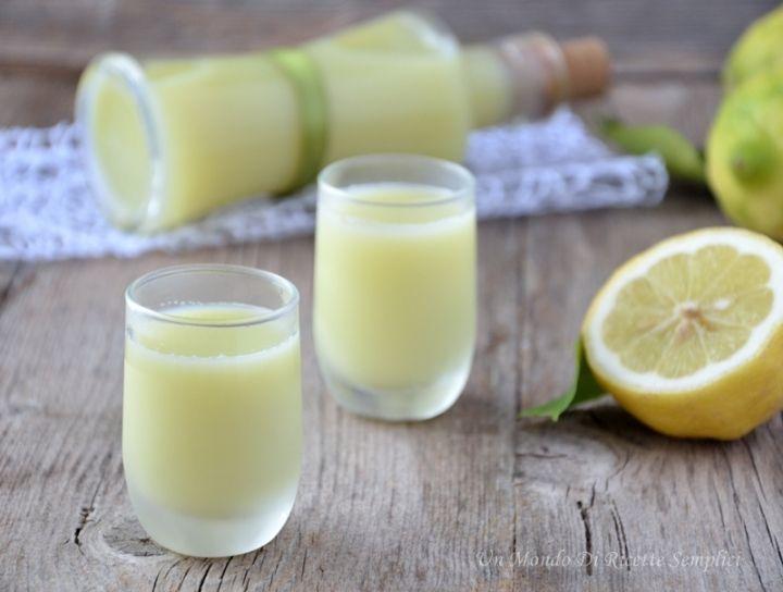 liquore al limone cremoso