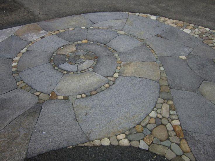 Patio by Kim Harwood. www.kimharwoodstonework.com