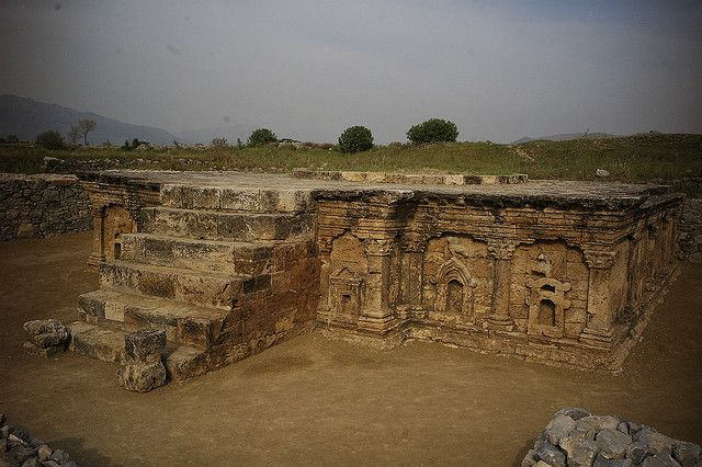 Located in northwestern Pakistan, Taxila is an ancient city that was annexed by the Persian King Darius the Great in 518 BC. In 326 BC the city was surrendered to Alexander the Great. Ruled by a succession of conquerors, the city became an important Buddhist centre.