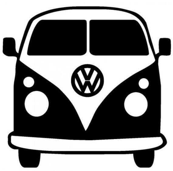 VW Bus SVG Cut file For Cricut,Etsy