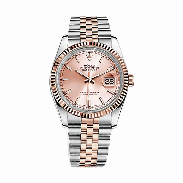 #Rolex #Datejust Rose Gold & Stainless Steel #Watch (Pink)