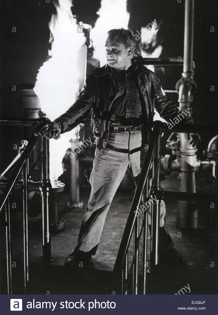WHITE HEAT 1949 Warner Bros film with James Cagney Stock Photo