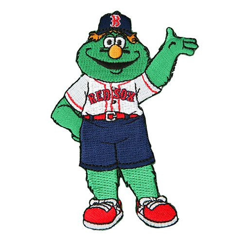 Boston Red Sox Wally The Green Monster Mascot Mlb
