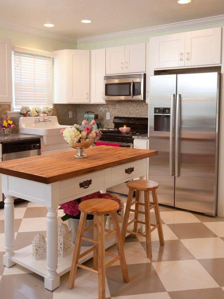 7 Best 20 Étonnantes Petites Îles De Cuisine Images On Pinterest Prepossessing Designs For A Small Kitchen Decorating Design
