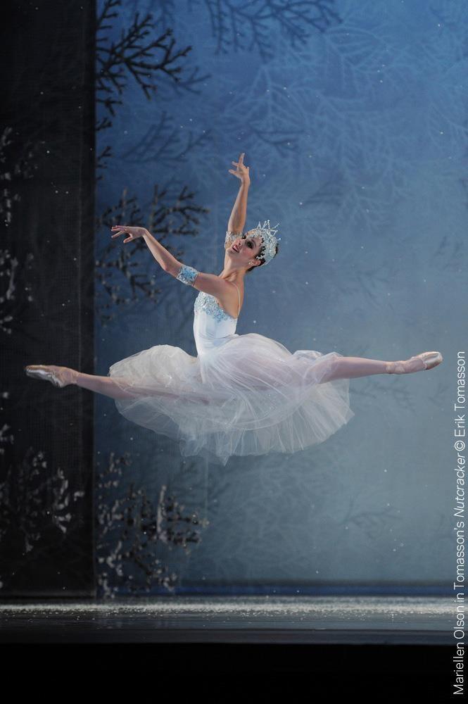 Maryellen Olson, SF Ballet, Nutcracker 'Snowflake' 2011