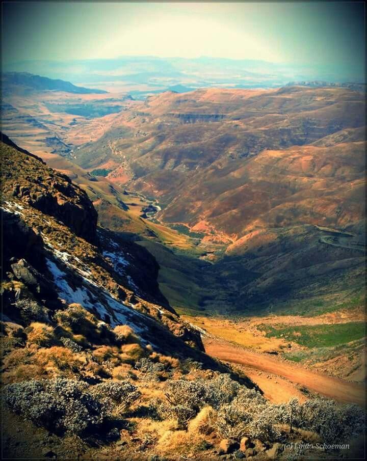 Sani Pass, Lesotho.