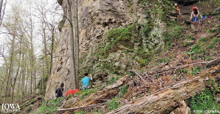 Exploring Pictured Rocks Park and eastern Iowa with Iowa Outdoors magazine | Iowa DNR