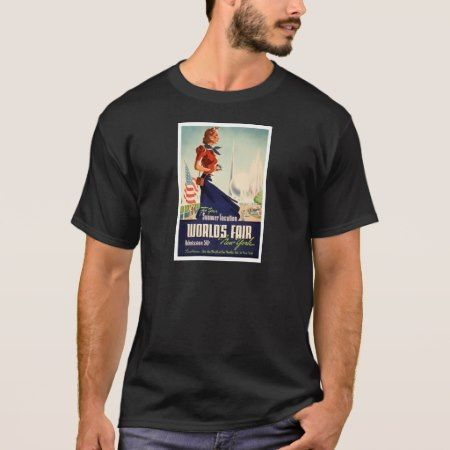 New York World's Fair Poster T-Shirt - tap to personalize and get yours