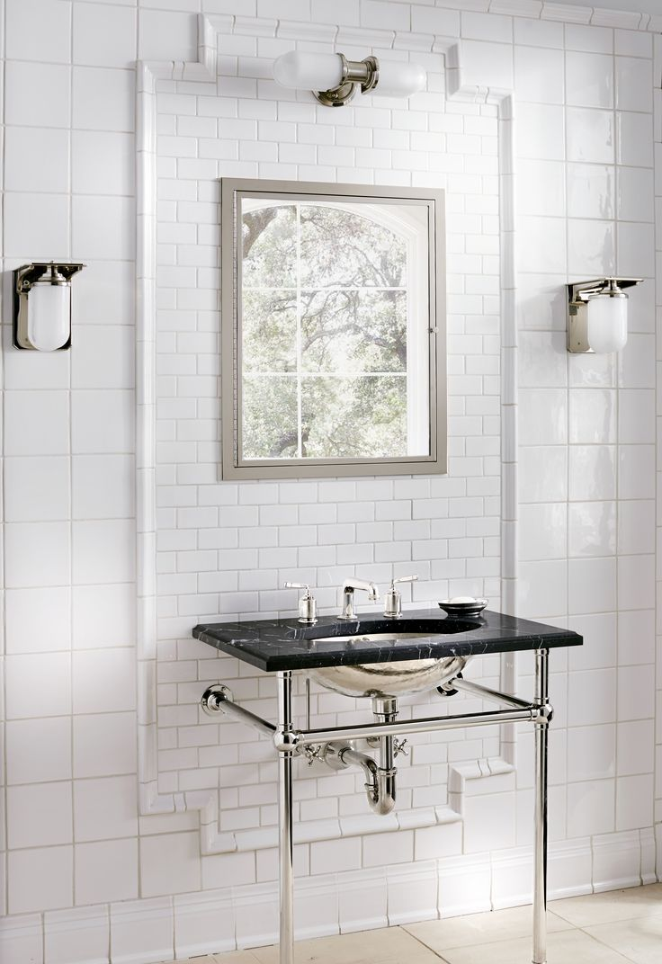 R.W. Atlas Deck Mounted Faucet With Lever Handles