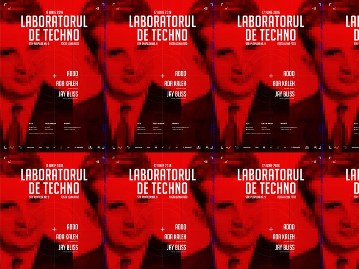 Screen Printing Poster (Proposal - Techno Laboratory)