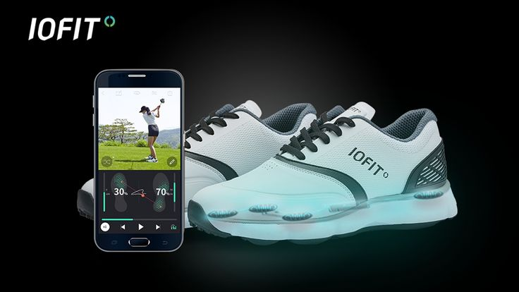 IOFIT is the world's first smart shoes that helps golfers quickly and smartly…