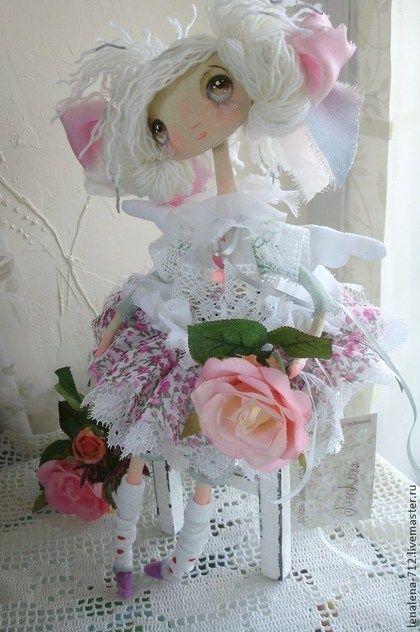 Коллекционные куклы ручной работы. Ярмарка Мастеров - ручная работа Эми...Ангел в стиле Шебби Шик.. Handmade.