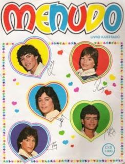"Álbum Menudo, não foi bem infância... ja tava na ""aborrêcencia"""