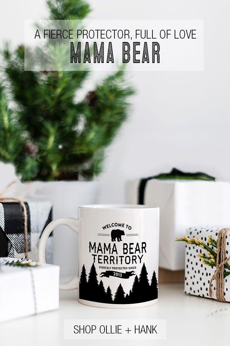 Custom Mom Gift | Mama Bear Territory Mug | Mother\'s Day | Pinterest ...