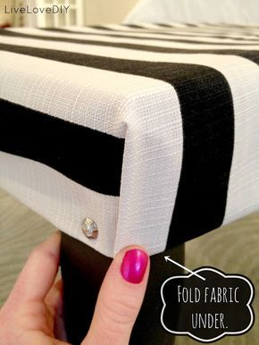 How To Upholster a Bench: A Step-by-Step Tutorial That Makes It Easy!!