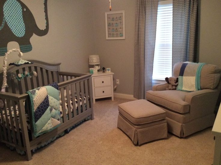 1000 images about gray nursery on pinterest gray crib modern gliders and grey nurseries - Grey themed rooms ...