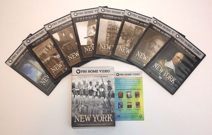 NEW YORK Documentary Ric Burns PBS American Experience (DVD 7 Disc Set) Original
