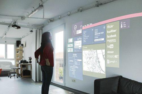 Think Big Factory, futuristic room, futuristic interior, futuristic home, future home, smart home, Domestic Operating System, smart house