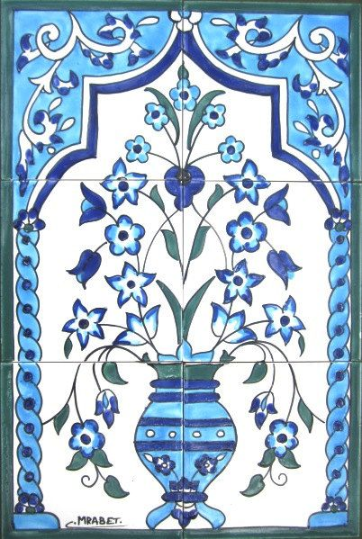 Hand Painted Decorative Tiles Unique 146 Best Hand Painted Tiles Images On Pinterest  Murals Wall Design Decoration