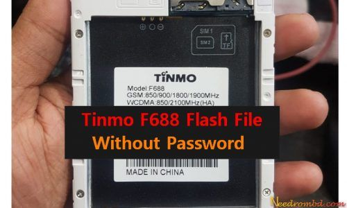 Tinmo F688 MT6572 Flash File Without Password | Smartphone