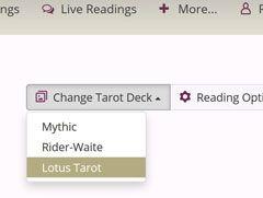 Lotus Tarot Deck @ Lotus Tarot