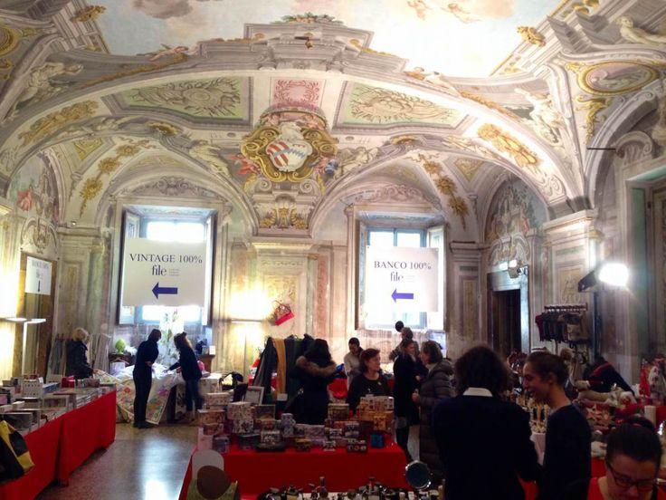 Christmas market at Palazzo Corsini in Florence