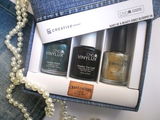 CND Craft Culture : Review Swatch Nail Art by Eleftheria Siatira