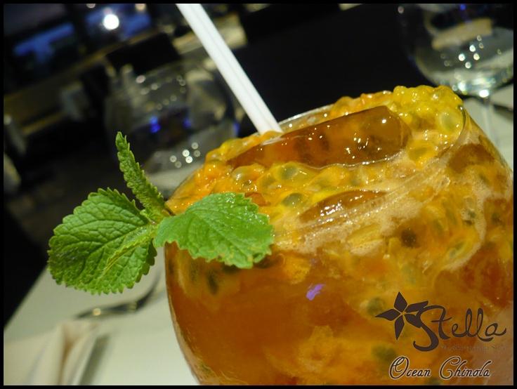 Ocean Chinola - Bebida sin alcohol. Disfrútalo! En Stella Restaurante RD