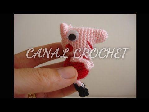 https://www.facebook.com/Canal-crochet-1166416096719575/timeline/ http://amigurumilacion.blogspot.com.es/2014/09/mini-peppa-pig-amigurumi-patron-libre.html