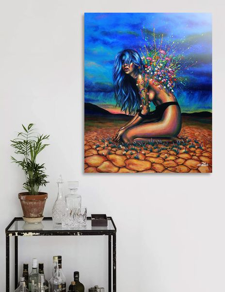 Discover «Bloom», Limited Edition Acrylic Glass Print by Olesya Umantsiva - From $99 - Curioos