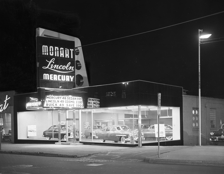 Lincoln Mercury Dealership -Designed by Brooks Stevens