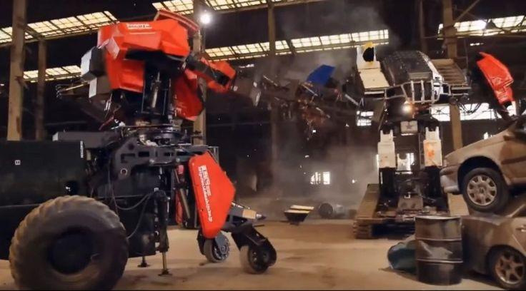 Robot gigante estadounidense vence a su rival japonés en un combate al estilo Transformers (+Video) #Noticias