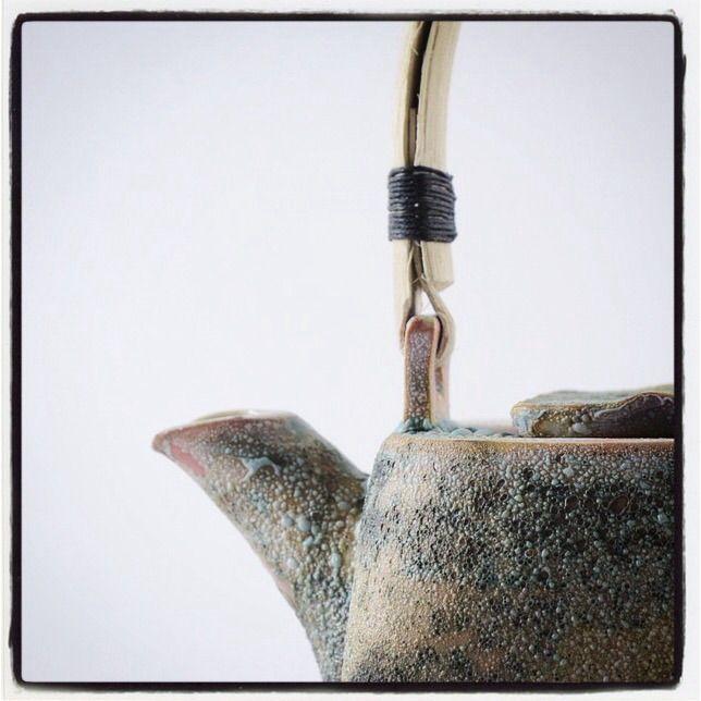 Detail of teapot