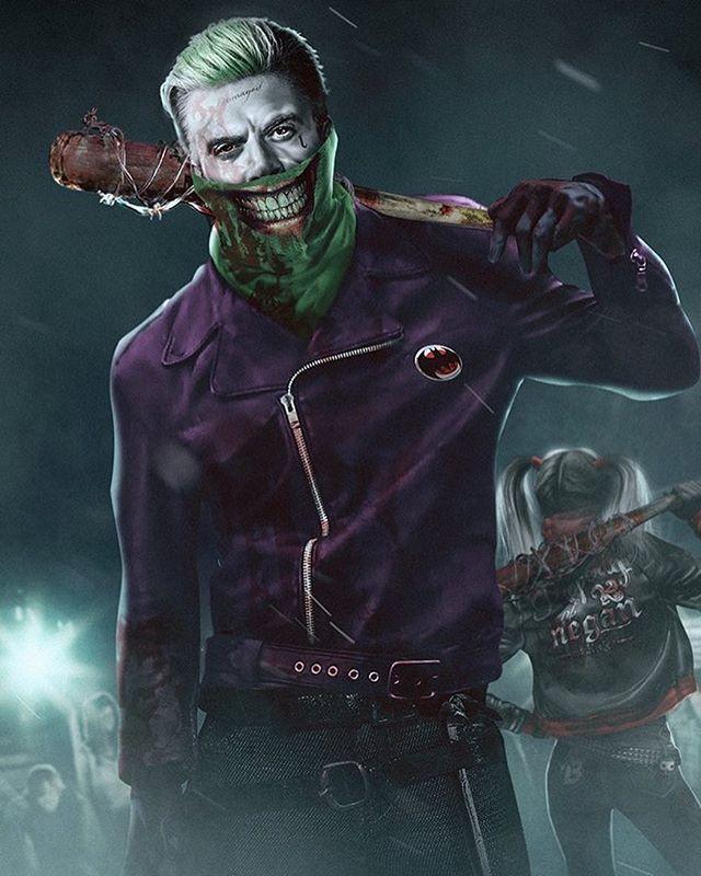 Joker/Negan mashup by bosslogic